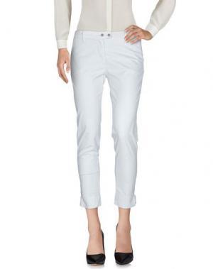 Повседневные брюки YUKO. Цвет: светло-серый