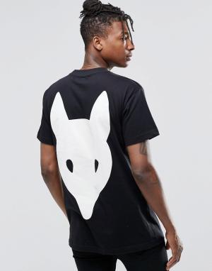 Long Clothing Футболка Fox. Цвет: черный