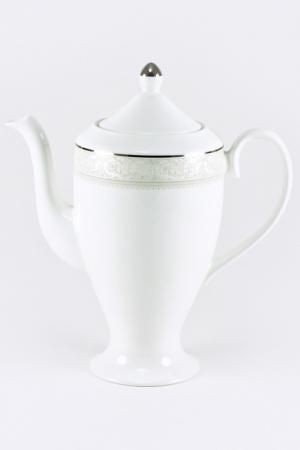 Кофейник Nikko. Цвет: белый