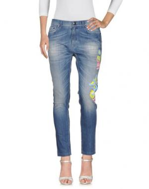Джинсовые брюки Ç X MIRA MIKATI. Цвет: синий