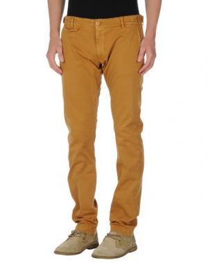Повседневные брюки TRUE NYC.. Цвет: верблюжий