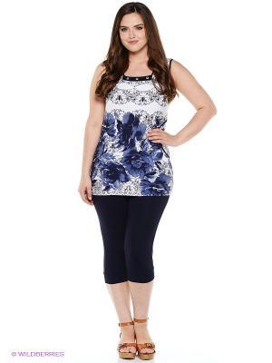Комплект одежды CLEO. Цвет: темно-синий, белый