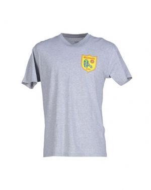 Футболка OBEY. Цвет: светло-серый