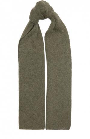Кашемировый шарф Kashja` Cashmere. Цвет: хаки