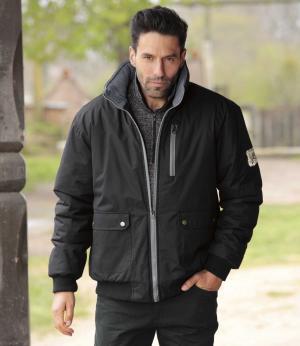 Куртка из Микрофибры AFM. Цвет: черныи