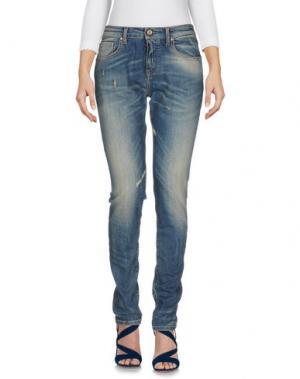 Джинсовые брюки 40BLUES. Цвет: синий