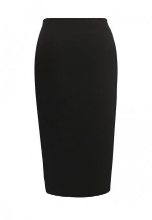 Юбка Armani Jeans. Цвет: черный