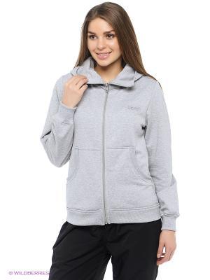 Куртка Shelter. Цвет: серый меланж