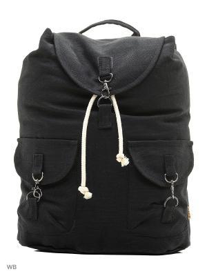 Городской рюкзак TIMBAG. Цвет: черный