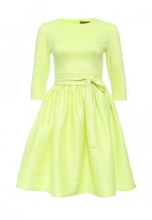 Платье Xarizmas. Цвет: желтый