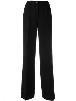 Широкие брюки Dolce & Gabbana. Цвет: чёрный