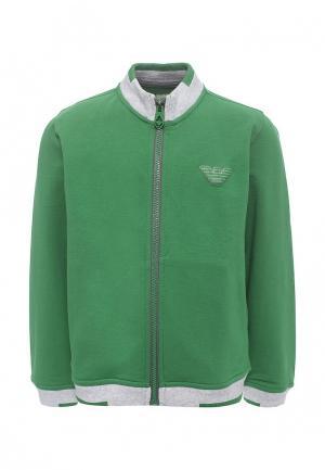 Олимпийка Armani Junior. Цвет: зеленый