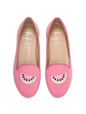 Слиперы - Арбуз Lucifer's shoes. Цвет: розовый