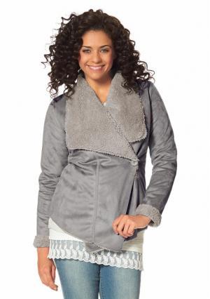 Куртка BOYSENS BOYSEN'S. Цвет: серый