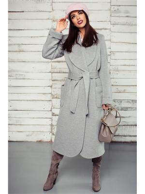 Пальто Exalta. Цвет: серый