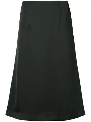 Пышная юбка миди Cityshop. Цвет: чёрный