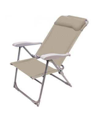 Кресло-шезлонг складное Nika. Цвет: персиковый