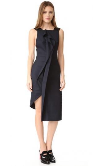 Платье Waverley Acler. Цвет: полночный