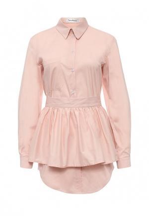 Рубашка Tutto Bene. Цвет: розовый
