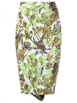 Floral skirt Isabela Capeto. Цвет: белый