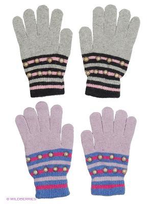 Перчатки FOMAS. Цвет: сиреневый, черный, серый, голубой