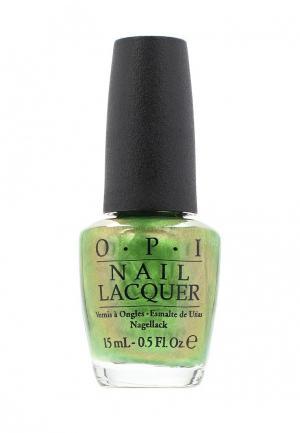 Лак для ногтей O.P.I. Цвет: зеленый