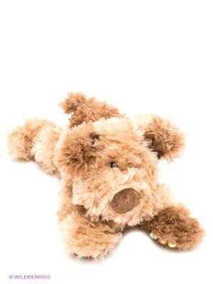 Собака Кучеряшка PLUSH APPLE. Цвет: коричневый