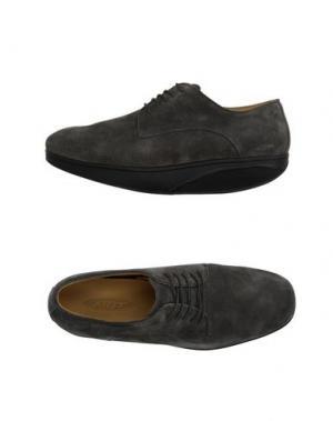 Обувь на шнурках MBT. Цвет: серый