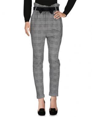 Повседневные брюки SOUVENIR. Цвет: серый