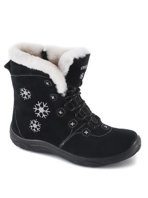Ботинки S-TEP. Цвет: черный