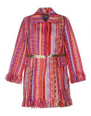 Легкое пальто GIADA BENINCASA. Цвет: красный