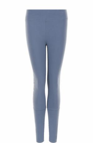 Спортивные леггинсы с логотипом бренда Calvin Klein Underwear. Цвет: синий