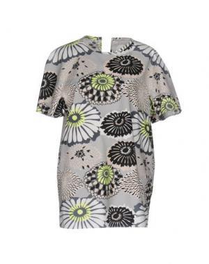 Блузка TER ET BANTINE. Цвет: светло-серый