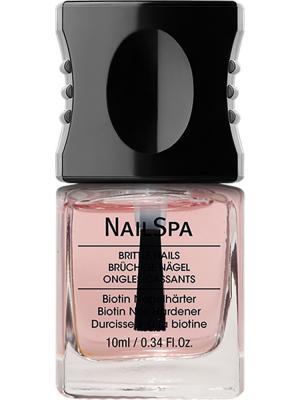Средство для придания твердости ногтям с биотином Biotin nail hardener alessandro. Цвет: прозрачный