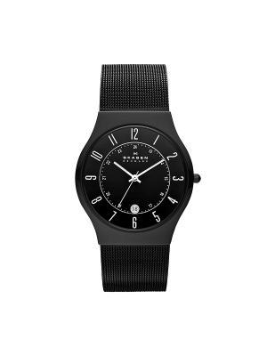 Часы SKAGEN. Цвет: черный