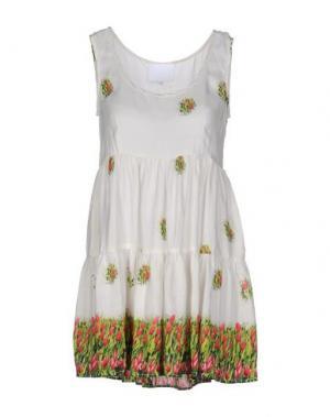 Короткое платье PRINCESSE METROPOLITAINE. Цвет: белый