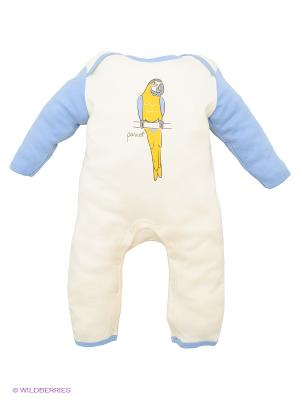 Комбинезон Hudson Baby. Цвет: голубой, молочный