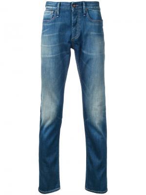 Razor 1970s jeans Denham. Цвет: синий