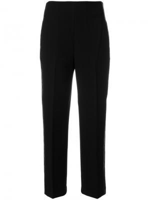 Прямые укороченные брюки 3.1 Phillip Lim. Цвет: чёрный