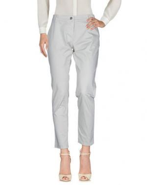 Повседневные брюки MAGILLA. Цвет: светло-серый