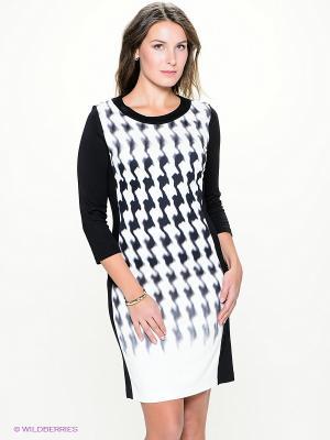Платье Betty Barclay. Цвет: белый, черный