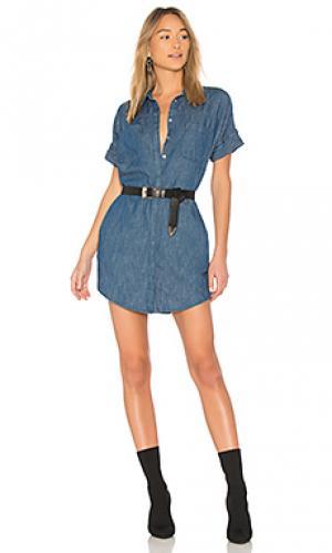 Платье-рубашка fatal attraction BLANKNYC. Цвет: none