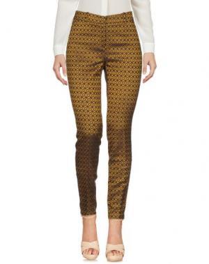 Повседневные брюки GOOD MOOD. Цвет: охра