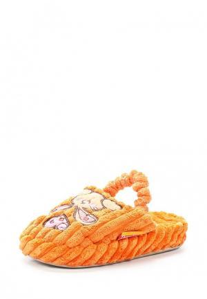 Тапочки Dream Feet. Цвет: оранжевый