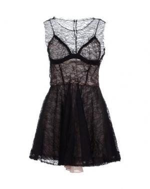 Короткое платье CAMILLA AND MARC. Цвет: черный