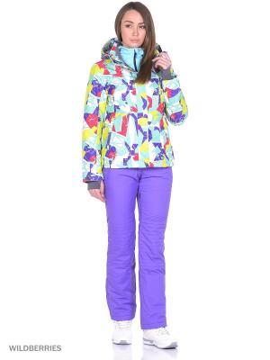 Куртка High Experience. Цвет: салатовый, малиновый