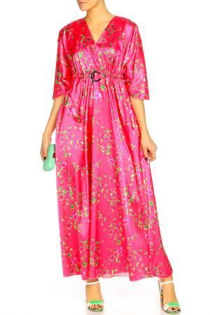 Платье Kata Binska. Цвет: ярко-розовый