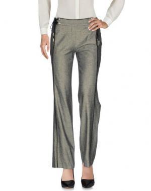 Повседневные брюки EUREKA. Цвет: черный