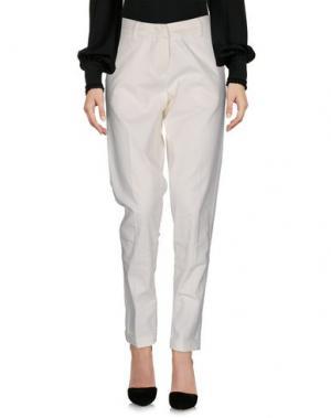 Повседневные брюки ESSENTIEL ANTWERP. Цвет: слоновая кость