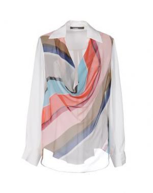 Блузка PIANURASTUDIO. Цвет: белый